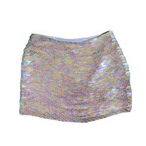 Hugo Buscati Sequined Skirt NWT